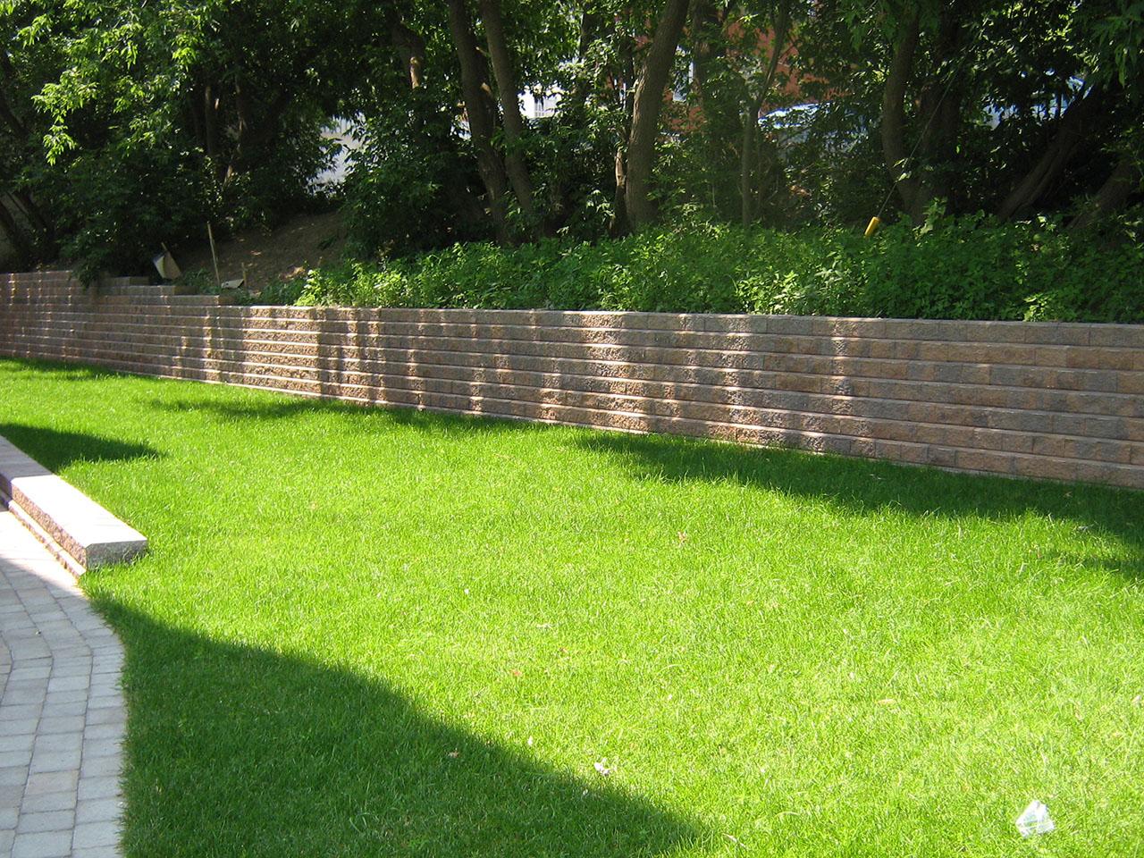 Mur de soutènement example