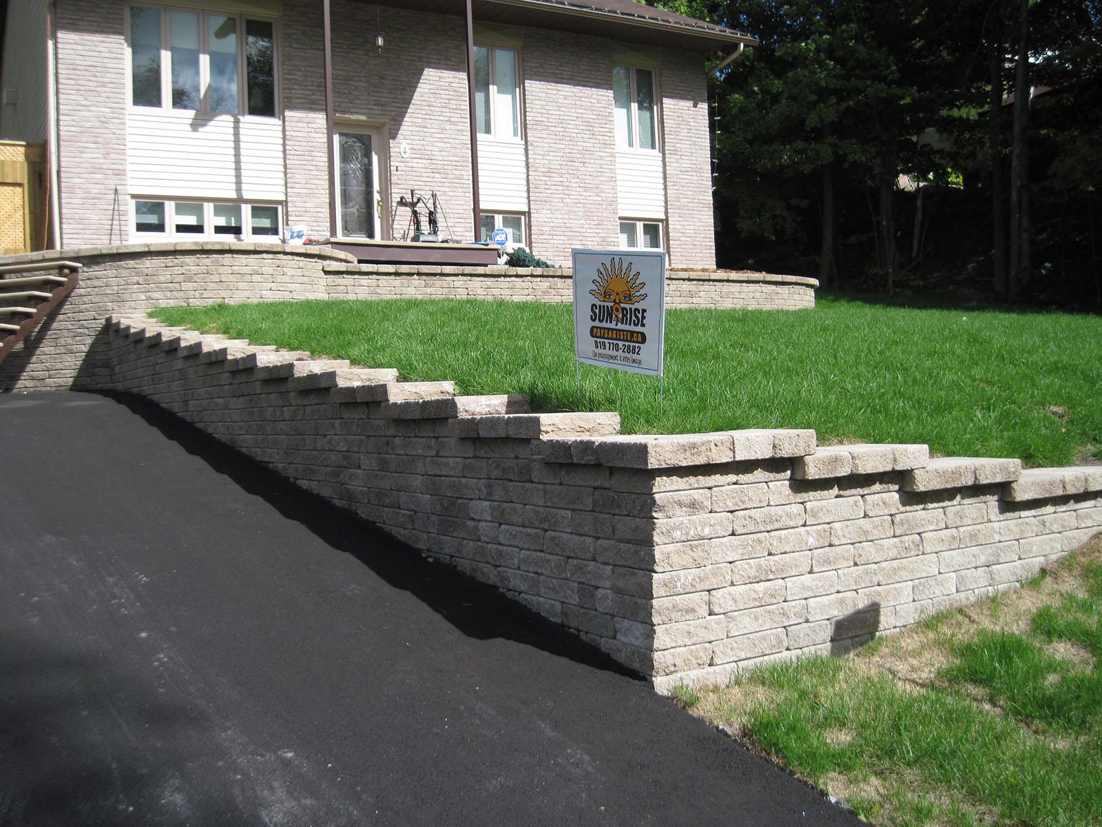 Mur de soutènement example 3