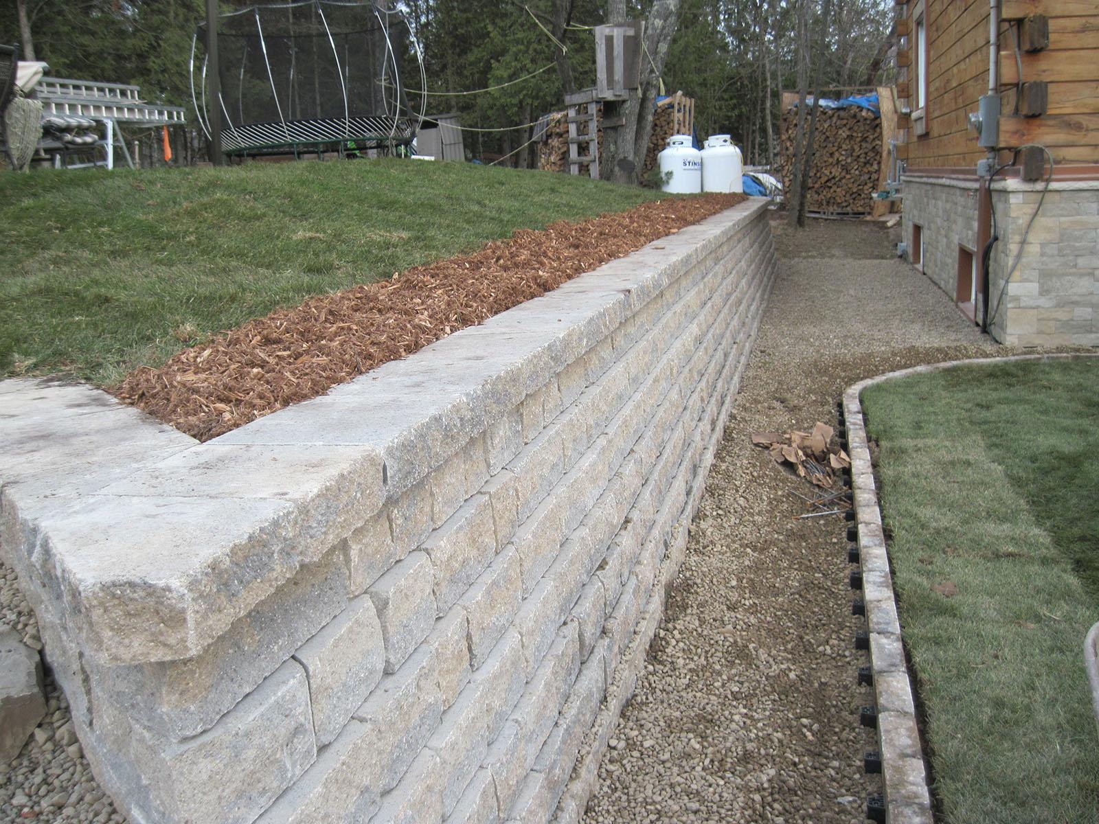 Mur de soutènement example 8